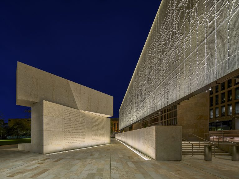 light semiotics eisenhower memorial